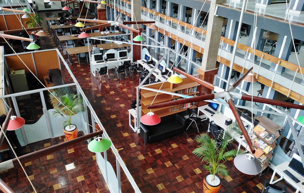 The UoN libraries provide space and physical facilities for use by the library user community