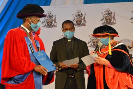 Installation of New UoN VC - Prof. Kiama