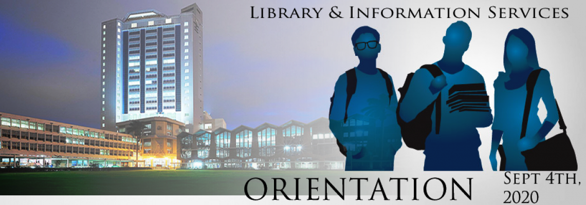 Library Services Orientation 2020